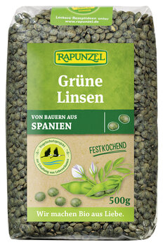 Grüne Linsen