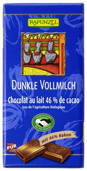 Dunkle Vollmilch Schokolade 46% HIH