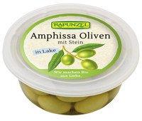 Oliven Amphissa grün, mit Stein in Lake