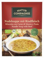 Nudelsuppe mit Rindfleisch (0,5l)