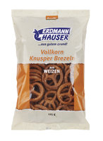Vollkorn-Knusperbrezel m. Salz