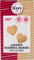 4-Korn-Mandelkeks (glutenfrei)