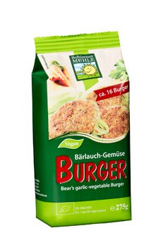 Bärlauch Gemüse Burger