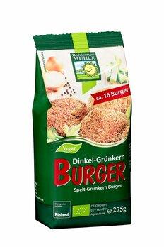 Dinkel Grünkern Burger
