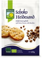 Dinkel-Schoko-Heidesand-Keks
