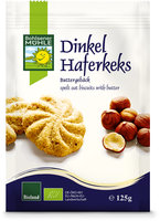Dinkel-Hafer-Keks