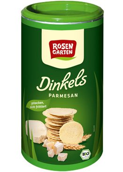 Dinkels - Parmesan Cräcker