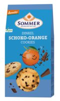 Dinkel Schoko Orange Cookies
