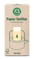 Papier Teefilter ungebleicht Gr 4