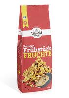 Knusper Frühstück, Früchte - glutenfrei -
