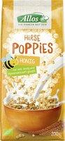 Hirse-Honig-Poppies