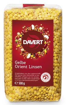 Gelbe Orient Linsen