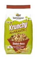 Krunchy Amaranth Dinkel-Nuss