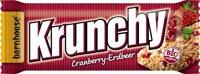 Krunchy Riegel Cranberry Erdbe
