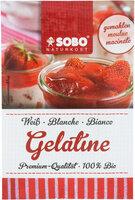 Gelatine gemahlen, weiß (vom Schwein)