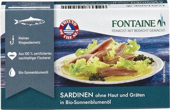 Sardinen (ohne Haut & Gräten)