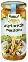 Vegetarische Würstchen (Glas)