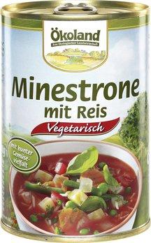 Minestrone mit Reis (Dose)