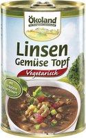 Linsen-Gemüse-Topf (Dose)