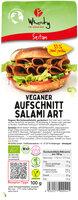 Wheaty Salami (Seitanaufschnitt)