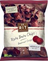 Rote Beete Chips Meersalz