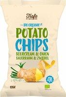 Chips sourrahm und Zwiebel