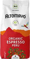 Bio-Espresso Bohnen 1kg