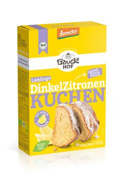 Dinkel-Zitronenkuchen