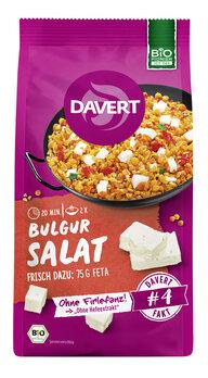 Bulgur Salat, mit roten Linsen