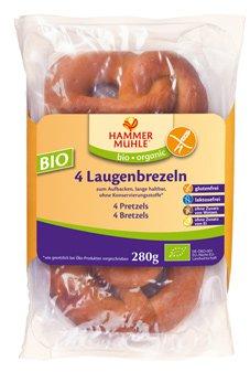Laugenbrezeln 4 Stk. glutenfr.