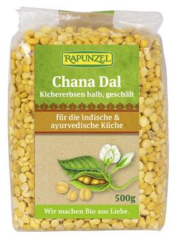Chana Dal, Kichererbsen halb, geschõlt