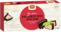 Baumkuchenspitzen - Zartbitter