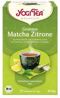 Grüntee Matcha Zitrone