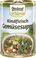 Rindfleisch Gemüsesuppe