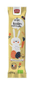 Schoko-Lolly Hase Weiss
