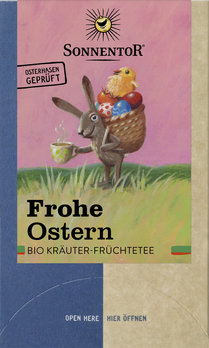 Frohe Ostern Tee, im Beutel