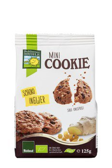 Mini Cookie Schoko Ingwer