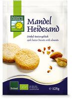Dinkel-Heidesand-Keks
