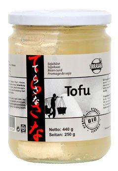 Tofu im Glas