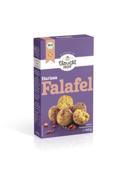 Harissa Falafel, glutenfrei