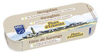 Heringsfilets über Buchenholz