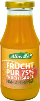 Fruchtsauce Mango-Orange