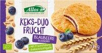Keks-Duo Frucht Blaubeere