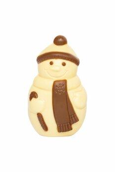 Schneemann mit Halstuch