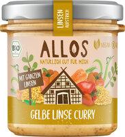 Linsenaufstrich Gelbe Linsen
