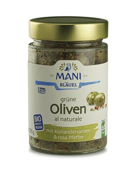 Oliven mit Koriandersamen