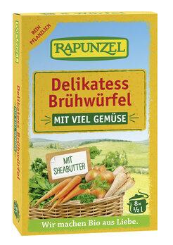 Gemüse-Brühwürfel Delikatess mit 14% Gemüse