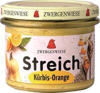 Kürbis-Orange Streich